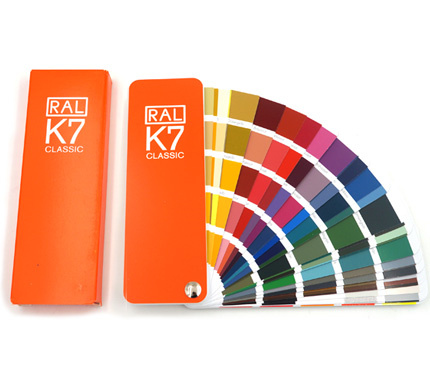 Germany RAL K7 Color cardsPicture